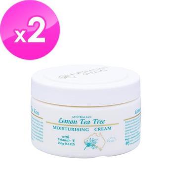 澳洲GM 檸檬茶樹潤膚霜含維他命E(250g) 2入組