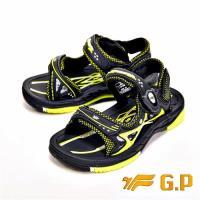 【G.P】可拆式磁扣兩用涼鞋 童鞋-綠(另有淺藍)