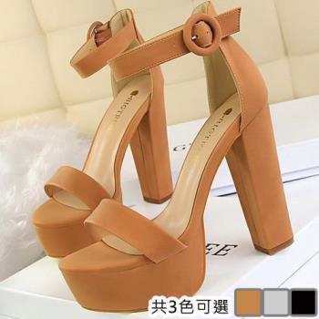 【Alice 】 (預購) 都會優雅粗跟美女鞋