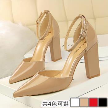 【Alice 】 (預購) 時尚潮流約會粗跟高跟鞋