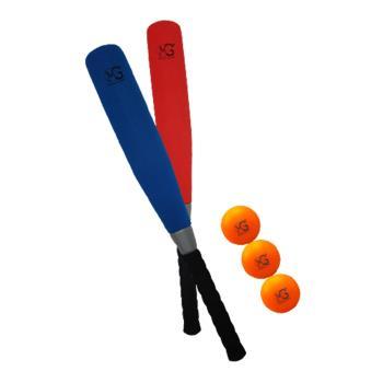 [SunnyBaby MIT PU運動商品系列] MG24吋胖胖球棒套組+3顆樂樂棒球(共2色顏色隨機出貨)