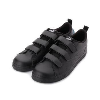 PUMA COURT POINT V V3 限定版三魔鬼氈休閒板鞋 全黑 366075-03 男鞋 鞋全家福