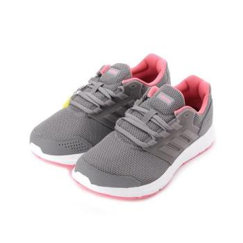 ADIDAS GALAXY 4 W 限定版輕量透氣跑鞋 深灰桃 CP8837 女鞋 鞋全家福