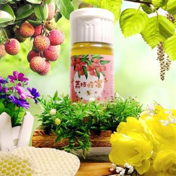 田蜜園 養蜂場 正港台灣荔枝蜂蜜700克4瓶