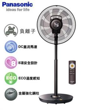 Panasonic 國際16吋DC風扇微電腦定時立扇 F-H16CND-K 晶鑽棕
