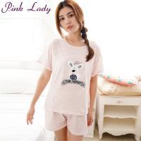 PINK LADY 呆萌兔條紋成套睡衣 (1801)