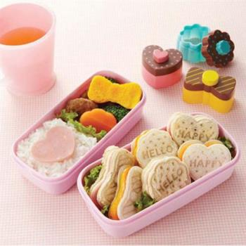 手做愛心 土司模具 三種造型 餅乾模具 飯糰 蝴蝶結 花朵