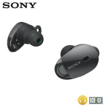 SONY 真無線藍牙耳機 WF-1000X 黑