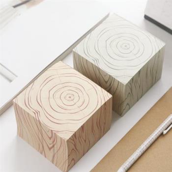 木紋可撕便簽本 600張 便籤 便條紙 文具 開學 辦公室