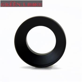 Green.L副廠GoPro/SJCAM運動錄影機鏡頭轉接環轉成37mm適Hero 3 3+ 4 LCD和SJ5000系列,AR-4