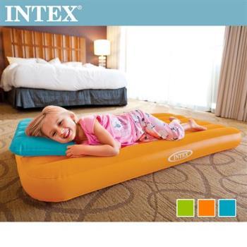 INTEX兒童植絨充氣床墊(適用3~10歲)-送充氣枕(66801)