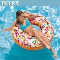 INTEX糖果DONUT游泳圈114cm 適用9歲+(56263)