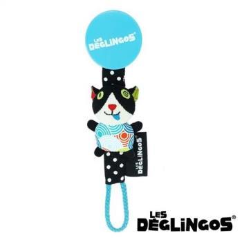 Les Deglingos 立體玩偶奶嘴夾-貓咪 (CHARLos)