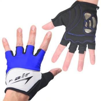 DR. AIR 第三代氣墊避震手套-寶藍(四種尺寸可選)