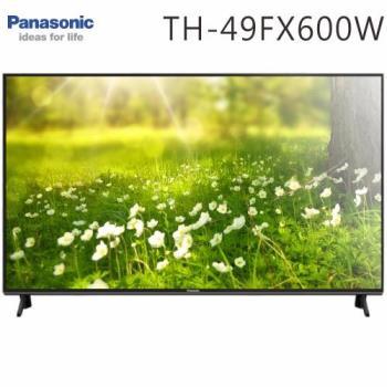 Panasonic國際 49吋 4K 聯網液晶顯示器+視訊盒(TH-49FX600W)