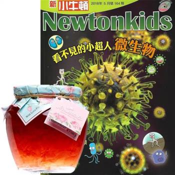 新小牛頓(1年12期)贈 Rosadoli保加利亞羅絲多麗蜂蜜玫瑰茶(680g/罐)