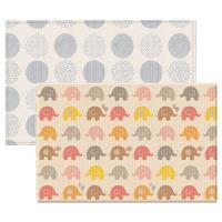 【BabyTiger虎兒寶】PARKLON 韓國帕龍 PURE BUBBLE 泡泡墊系列-經典大象 雙面厚4CM地墊