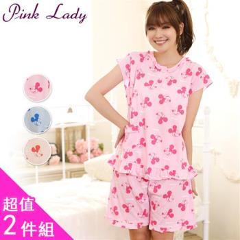 PINK LADY 米奇印花成套睡衣 2套組 (2108)