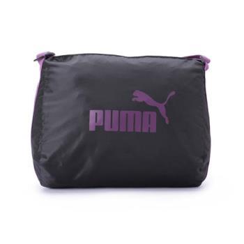 PUMA 都會輕便側背包 黑紫 076013-01 鞋全家福