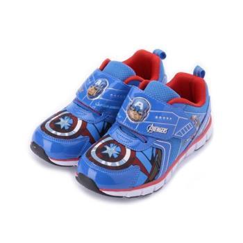 MARVEL 美國隊長殼燈運動鞋 藍 MNKX85126 中大童鞋 鞋全家福