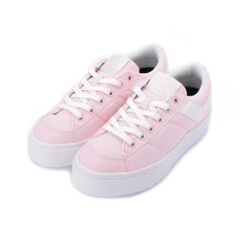 PONY 厚底復古滑板鞋 粉白 82W1PR91PK 女鞋 鞋全家福