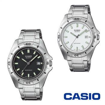 CASIO卡西歐 貴氣時尚休閒男仕腕錶 MTP-1381D-7A/8A