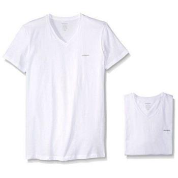 Diesel 2018男時尚Jake白色V領短袖內衣3件組(預購)
