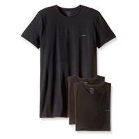 Diesel 男時尚Jake黑色圓領短袖內衣3件組(預購)