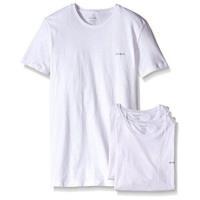 Diesel 男時尚Jake白色圓領短袖內衣3件組(預購)