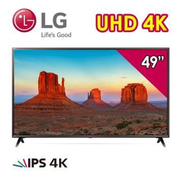 LG 樂金 49型 IPS 廣角 4K 智慧連網電視 49UK6320PWE