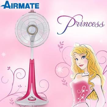 AIRMATE艾美特風扇12吋DC遙控DC立扇 S30135R迪士尼睡美人