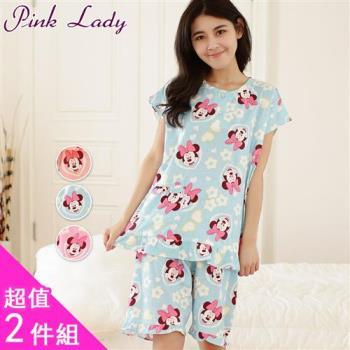 PINK LADY 米妮花間漫遊成套睡衣 2件組(2124)