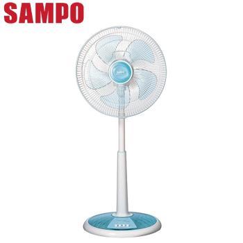 SAMPO聲寶風扇14吋星鑽底座機械式桌立扇 SK-FM14