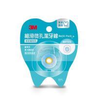 3M 細滑微孔潔牙線環保補充包 35mx9入