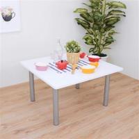 【頂堅】寬80x高45/公分(PVC防潮材質)方形和室桌/矮腳桌/餐桌(二色可選)