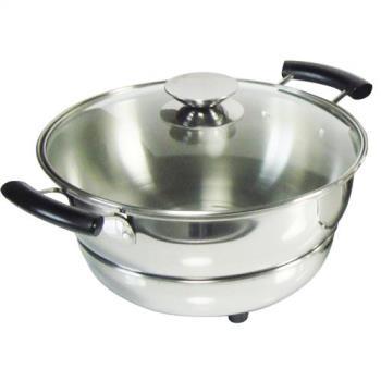 節能免火再煮鍋寬口4公升