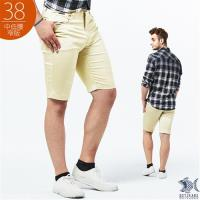NST Jeans_流沙金 吸濕排汗 極彈休閒短褲(中低腰窄版)