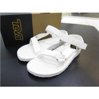 TEVA 海灘涼鞋 正品 1003987BRWH 全白 女款黑白經典款海灘涼鞋 iSPORT愛運動