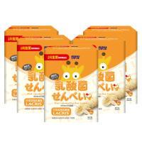 【小兒利撒爾】乳酸菌夾心米果 卵口味 x五盒組(寶寶益生菌/幼兒餅乾米果米棒/營養輔食純米製作)