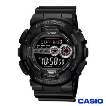 CASIO卡西歐 G-SHOCK極速先鋒休閒運動錶 GD-100-1B