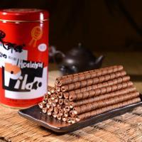 【黑師傅】 捲心酥3罐 (400g/罐)(咖啡/黑糖任選)