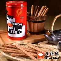 黑師傅 捲心酥6罐(400g/罐)(巧克力/草莓/牛奶/花生 任選)