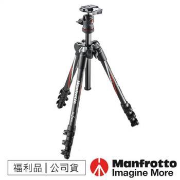 【福利品】Manfrotto曼富圖 MKBFRC4-BH Befree自由者碳纖旅行腳架套組