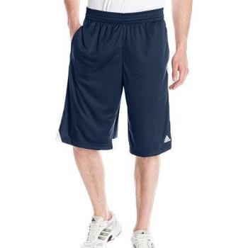 Adidas 2018男時尚籃球3G速度2.0深藍色白線短褲(預購)