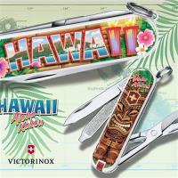 VICTORINOX 瑞士維氏限量迷你7用印花瑞士刀-夏威夷