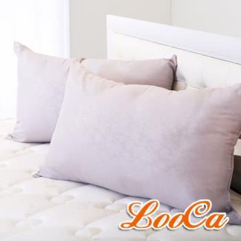 《送運動冰涼巾》LooCa 美國Microban抗菌竹炭枕(1入)