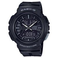 CASIO 卡西歐 Baby-G 慢跑運動手錶-黑 BGA-240BC-1ADR / BGA-240BC-1A