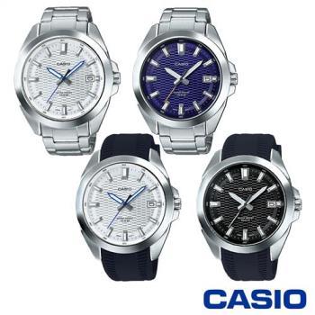 CASIO卡西歐 時尚玩家夜光指針男錶 MTP-E400