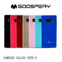 【GOOSPERY】SAMSUNG Galaxy Note 8 JELLY 閃粉套