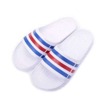ADIDAS DURAMO SLIDE 一體成型套式拖鞋 白 U43664 男鞋 鞋全家福
